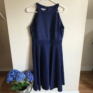 Navy Racerback Dress